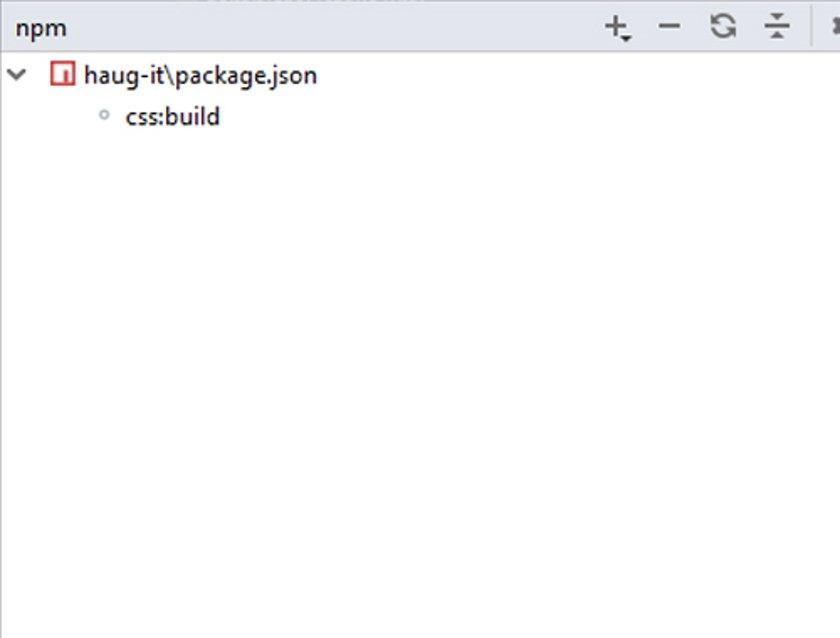 Abbildung 32- NPM_ScriptsIDE