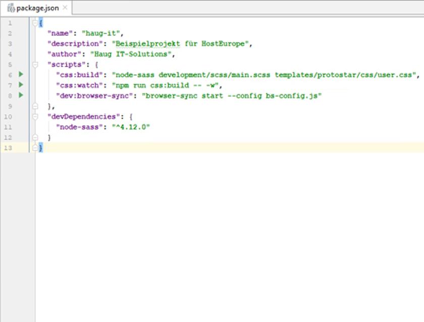 Abbildung 38 - NPM_ScriptBrowserSync