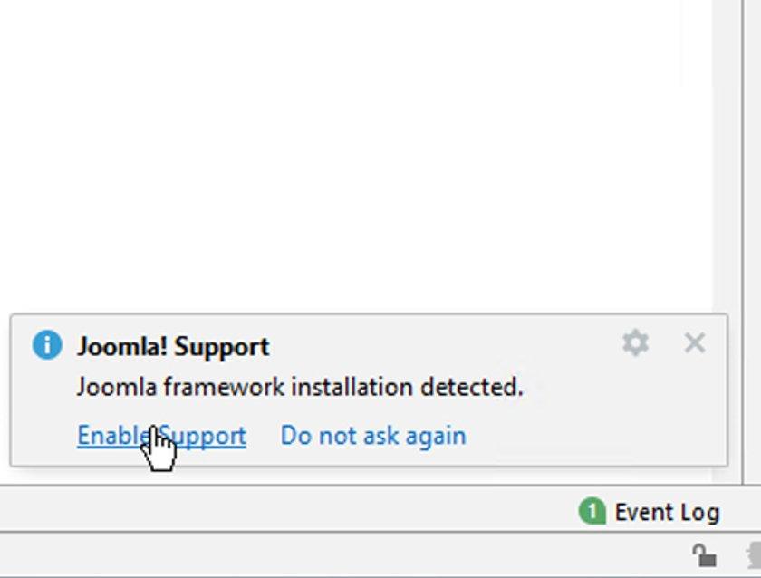 Abbildung 21 - Projekt - Joomla-Support