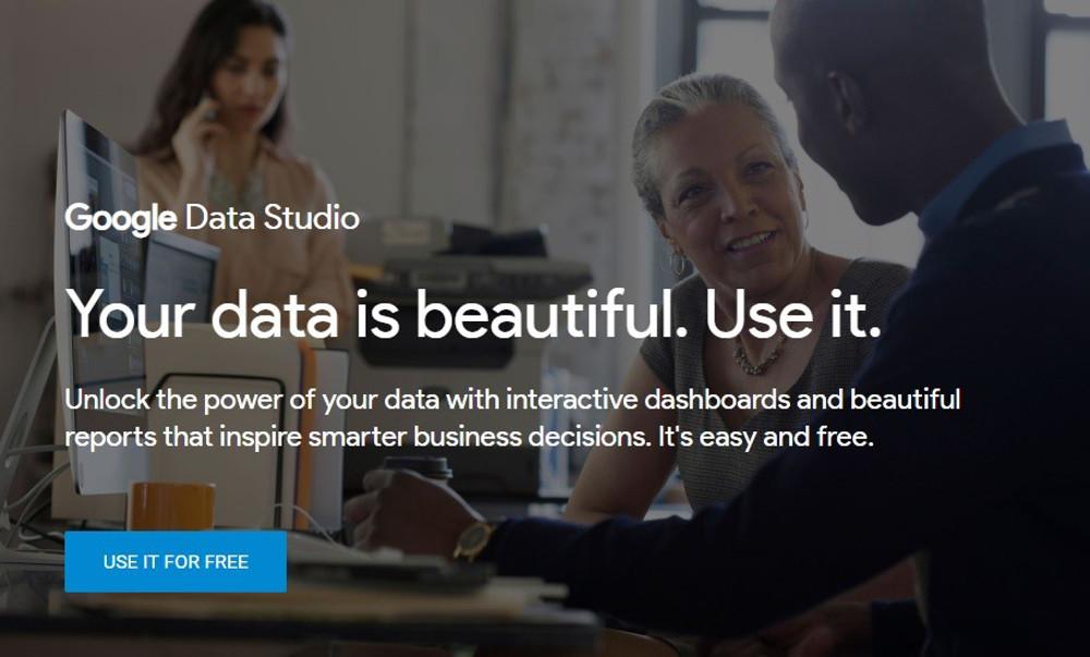 Abbildung 1 - Google Data Studio ist das ultimative Visualisierungstool für Daten aus unterschiedlichsten Quellen.