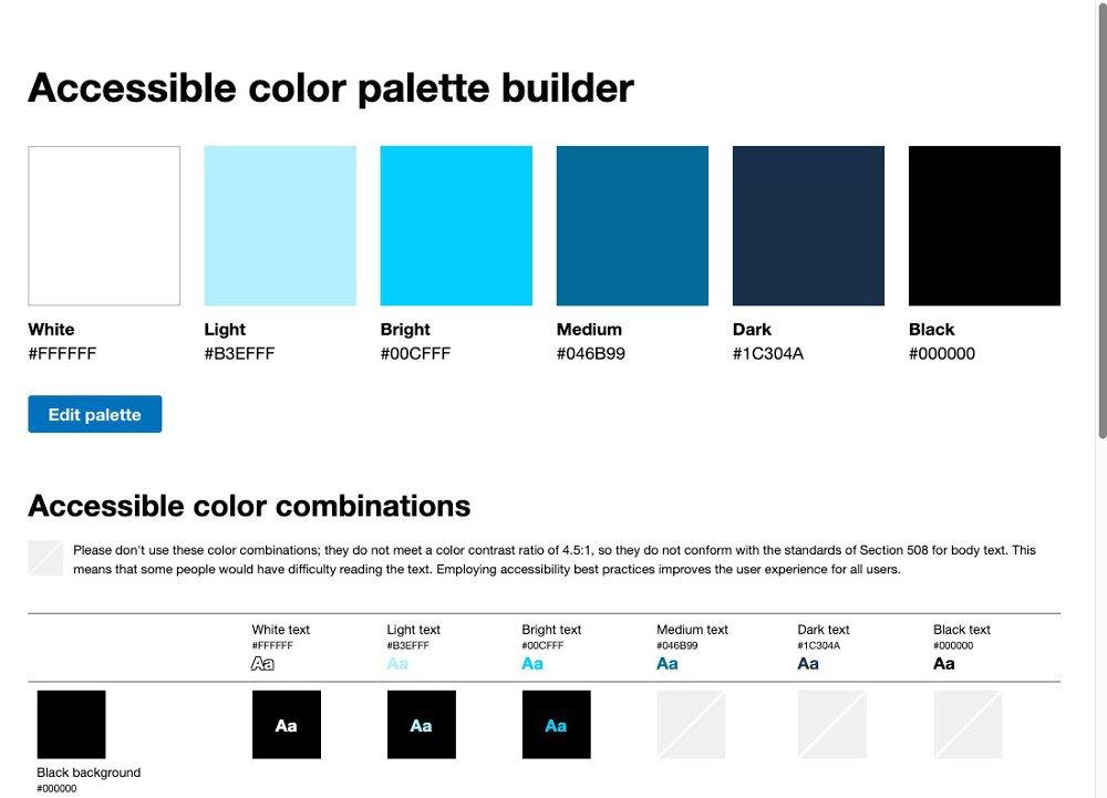 Abbildung4 - Accessible Color Palette-Builder