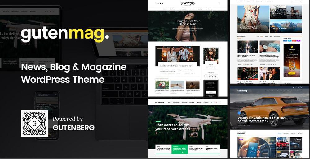 Abbildung - Gutenberg WordPress Theme GutenMag