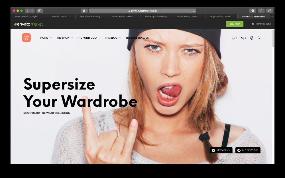 Abbildung - Gutenberg Theme Shopkeeper