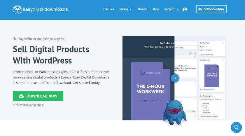 Abbildung - WordPress-Plugin - EasyDigitalDownloads