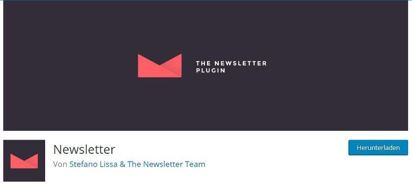Abbildung - WordPress-Plugin - Newsletter