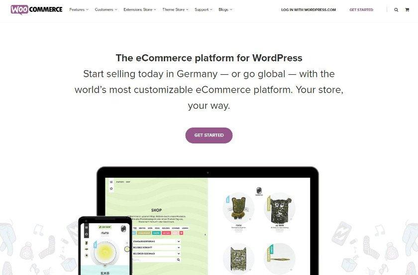 Abbildung - WordPress-Plugin - Woocommerce