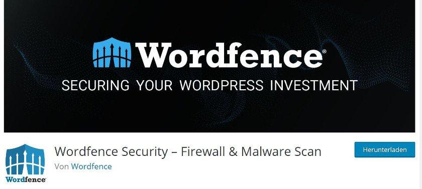 Abbildung - WordPress-Plugin - Wordfence