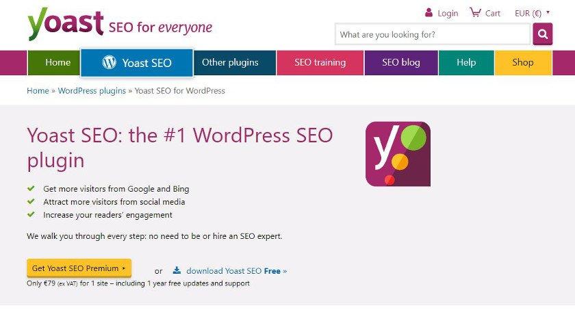 Abbildung - WordPress-Plugin - Yoast SEO