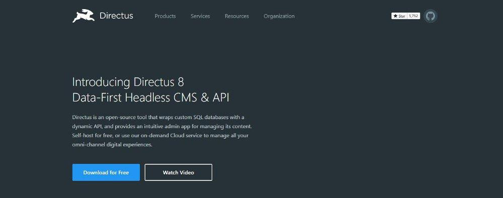 Abbildung - Directus basiert auf PHP und Backbone.js