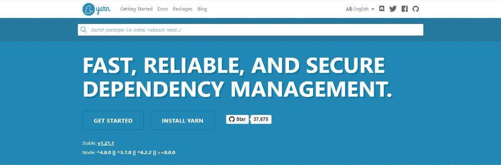 Abbildung – Das Management-Tool Yarn