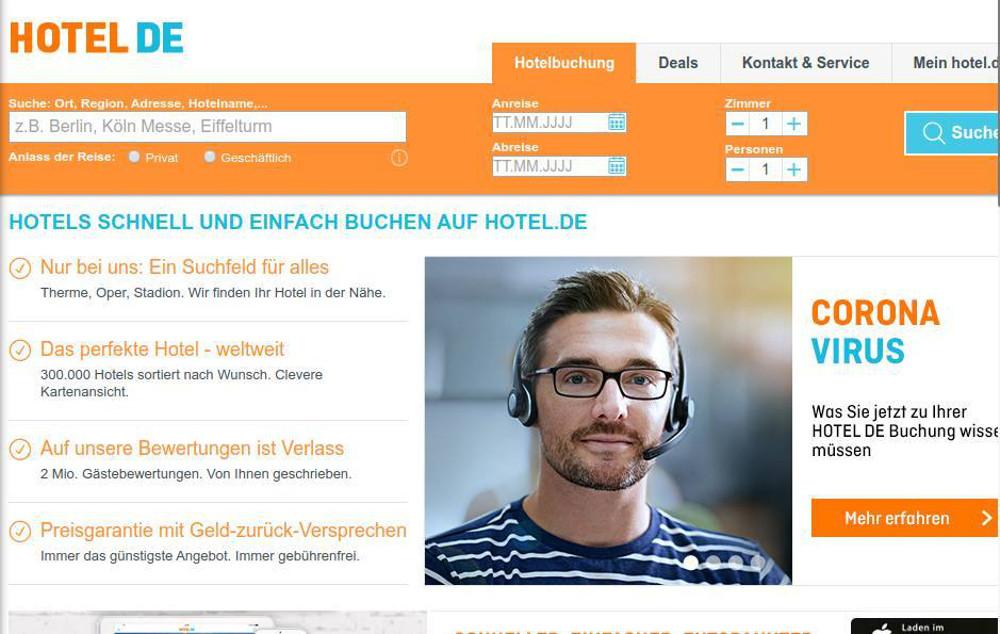 Abbildung_-_Kommunikation in der Corona-Krise - Informationen auf der Webseite