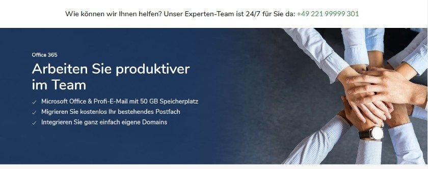 Abbildung - Office 365 gehört zur Standardausstattung für ortsunabhängiges Arbeiten im Team.