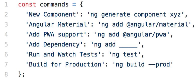 """Abbildung - Angular-Testing - kleines Objekt für alle """"Next Steps"""""""