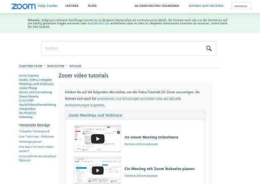 Abbildung - Video-Tutorials - Zoom Help Center