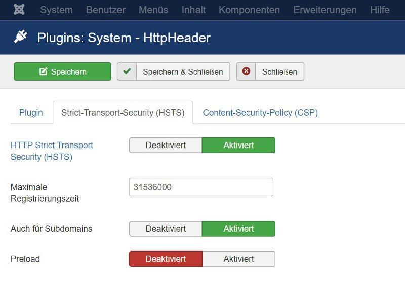 Abbildung - HTTP Header Strict-Transport-Security