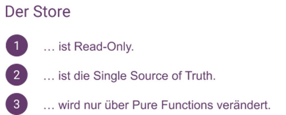 Abbildung - Store Prinzipien