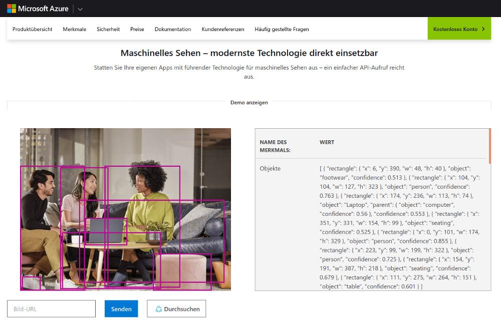 Abbildung Nützliche Public APIs im Überblick - Die Microsoft Computer Vision API