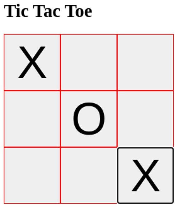 Abbildung JavaScript Testing - Tic Tac Toe