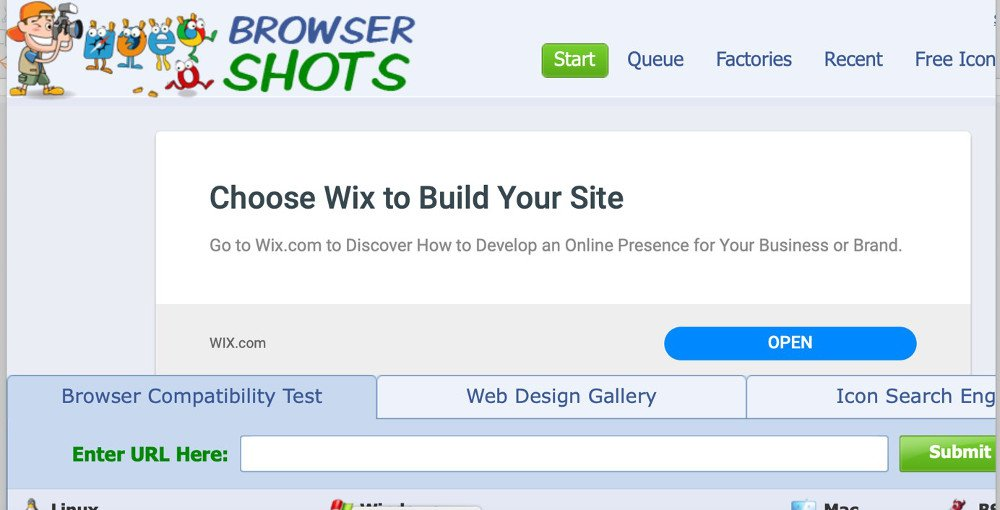Abbildung - Browsershots