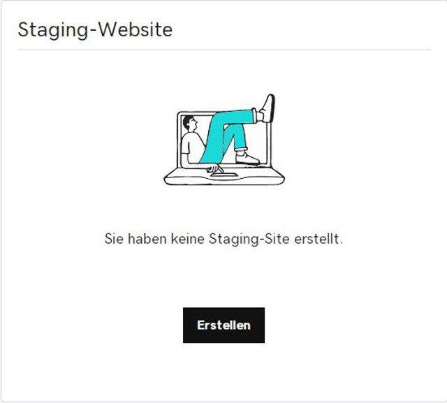 Abbildung - WordPress-Staging – Websites ohne Risiko ändern und aktualisieren