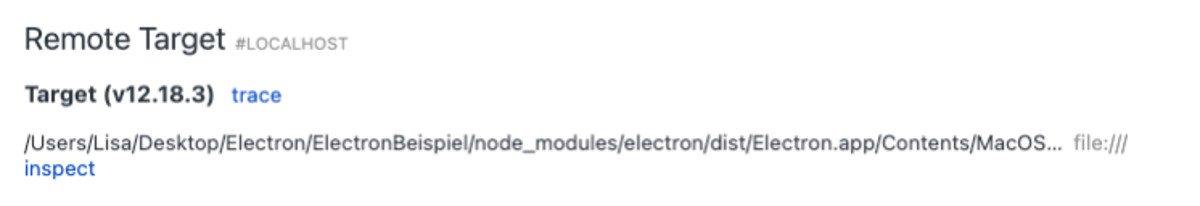 Abbildung -Electron Remote Targets