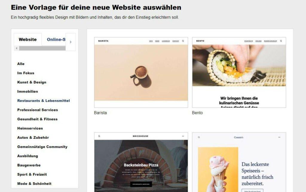 WordPress-Installation - Abbildung 1: Vorschläge für das passende Design