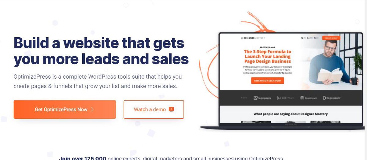 Die besten WordPress-Plugins für Landingpages – OptimizePress