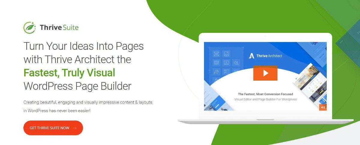 Die besten WordPress-Plugins für Landingpages – Thrive Architect