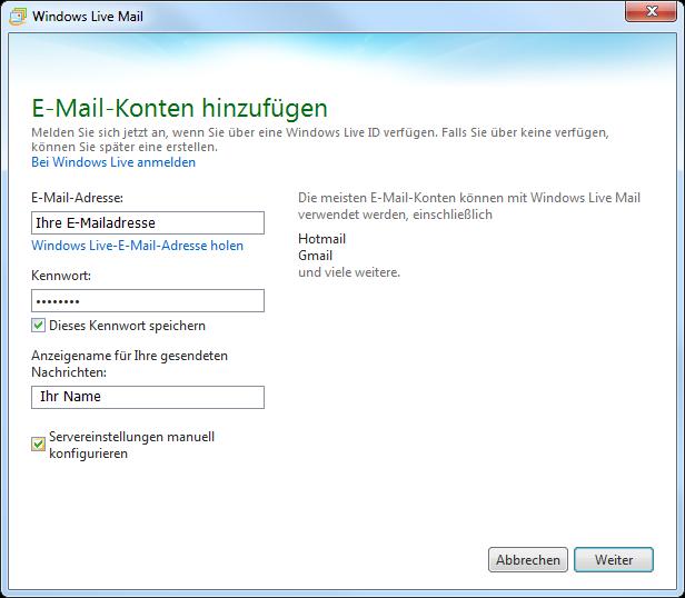 Einrichten pdf administrieren webserver und